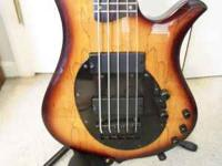I have a Traben Neo-limited 5 string bass for