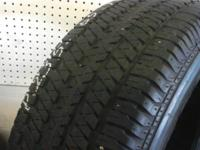 Nice Used set of Bridgestone Dueler size 235/65/16  all