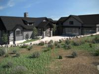 This custom home is under construction with an