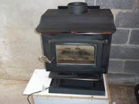 US Stove 1,100 sq. ft. Wood Stove for sale. we bought