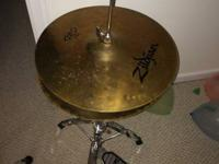 "Great Zildjian 14"" Hey Hat (both cymbals made use of"
