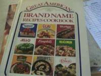 "Cookbook using ""Great American Brand Name Recipes."""