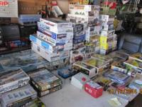 TONS OF CHILDREN GAMES TOYS MILTARY MODELS TRUCKS AUTOS