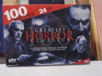 "24 Disc Set - ONE HUNDRED Movies.  ""Greatest Scary"