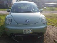 I have an automatic green 2001 Volkswagen beetle for