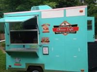 FOOD CONCESSION TRAILER 7'9 X 10' FOR SALE! Custom