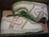 I have a pair of size 4 nikes for a toddler girl. In