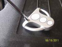Green Bay Packer - 3 ball putter, brand new never used