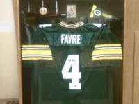 Great Holiday Gift! Brett Favre Autograph Jersey with