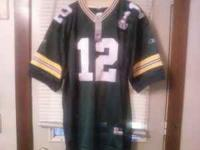 We have a brand new Aaron Rodgers Green Bay Packers #12