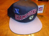 1997 Green Bay Packers Champions cap. Never worn, with