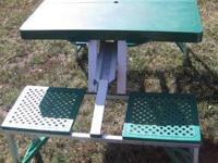 The ultimate take-anywhere portable picnic table