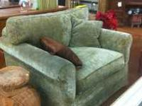 Green Living room Chair on sale - $499 Find us on