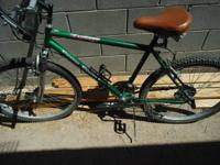 "I have a green Free Spirit ""Explorer"" 18 speed bicycle"