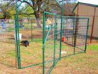 5X10 KENNEL PANELS EACH SECTION COST 80$ AND PANELGATE