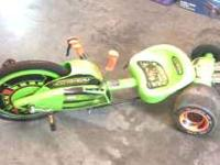 Green Machine, child's toy for sale. Please call  for