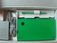 Nintendo DSI (Green) It's in very great condition. I