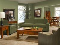Peridot Green Sofa& Chair Set $599.99  Joseph Cevolani