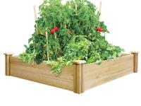 For gardeners who think big, here?s a raised garden bed