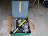 Have for sale Greelee # 882 hydrolic avenue bender. The