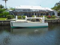 Rare opportunity to own a Greenline 33 Hybrid. Over 300