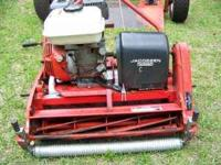 GREENS MOWER with TRAILER: Professional Jacobsen