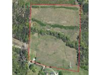 Gorgeous 22+ acre parcel of primarily open land on