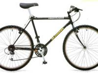 21 speed Mountain Bike  Double butted Chrome-Moly frame