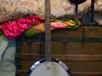 Greg Bennett Banjo by Samick missing tuning gear for