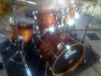 This is for a 5 piece Gretsch Renown maple shell kit.