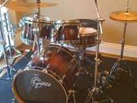 This is a very nice set of Gretsch drums I just dont