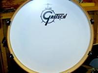 The Gretsch Catalina Club 4-piece configuration set.