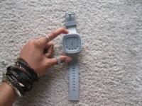 grey remix light-up watch, never worn
