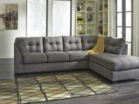 Beautiful New Grey Sectional Sofa $699.We offer a large