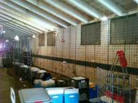 4', 8' Gridwall (all by 2'). I used it for craft & gift