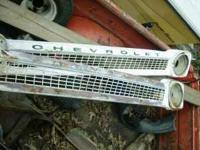 2 grills for 64-66 Chevy pickups. both have been