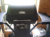 Grill for sale. Black in color. Sold as is. Used
