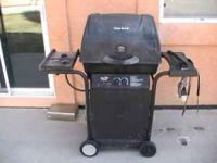 gas grill works great complete with tank call text