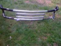 Grille Guard chrome is pealing needs to be painted, has