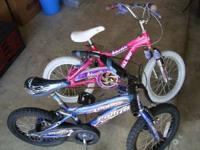 We have 2 bikes for sale $20 each.  Location: North