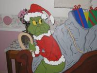 Grinch who stole christmas life size 4ft tall.. Show