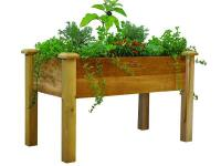 Elevated garden beds are the answer for an instant and