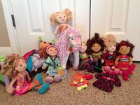 For sale is a 7-doll Groovy Girl lot PLUS the Duchess