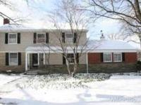 Large Colonial With 4 Bedrooms And 3 Full Baths. Den