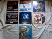 Group Lot Set of Laserdisc LDs for Sale or Trade!