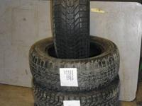 FOR SALE IS A SET OF 4 FIRESTONE WINTERFORCE TIRES.