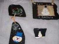 Group of Small Slates for the holidays. See picture