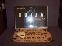 Vintage Board Games Ouija Bigfoot Masteron STOP THEIF