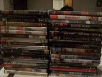 Groups of 10 DVDs of your choice from DVDs I have