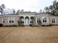 This 3600+ Square Foot Brick Ranch Was Custom Built. It